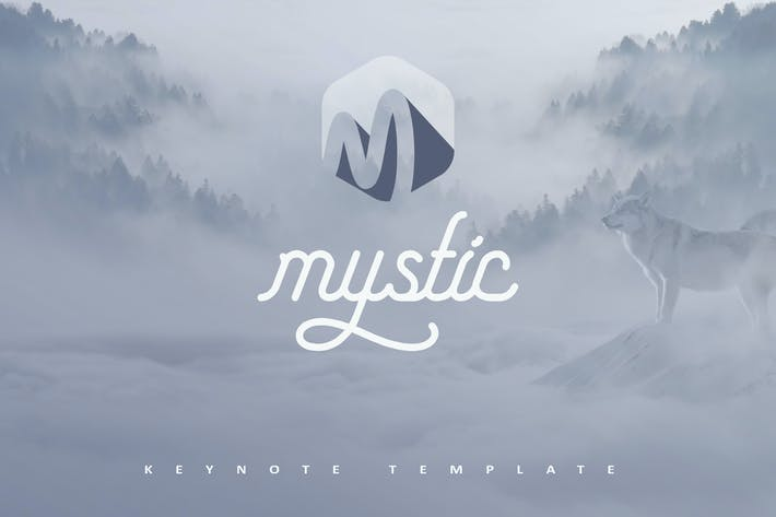 Thumbnail for Mystic Keynote Template