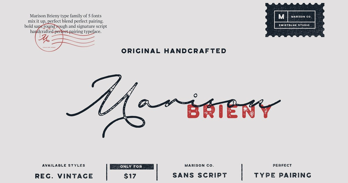 Marison Type Collection by swistblnk