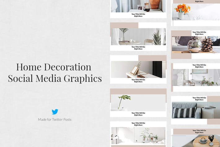 Thumbnail for Home Decoration Twitter Posts