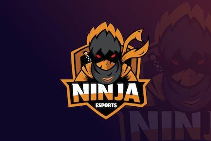 Ninja Mascot & eSports Logo Gaming