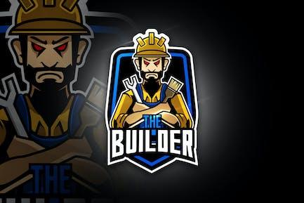 The Builder - Mascot & Esport Logo