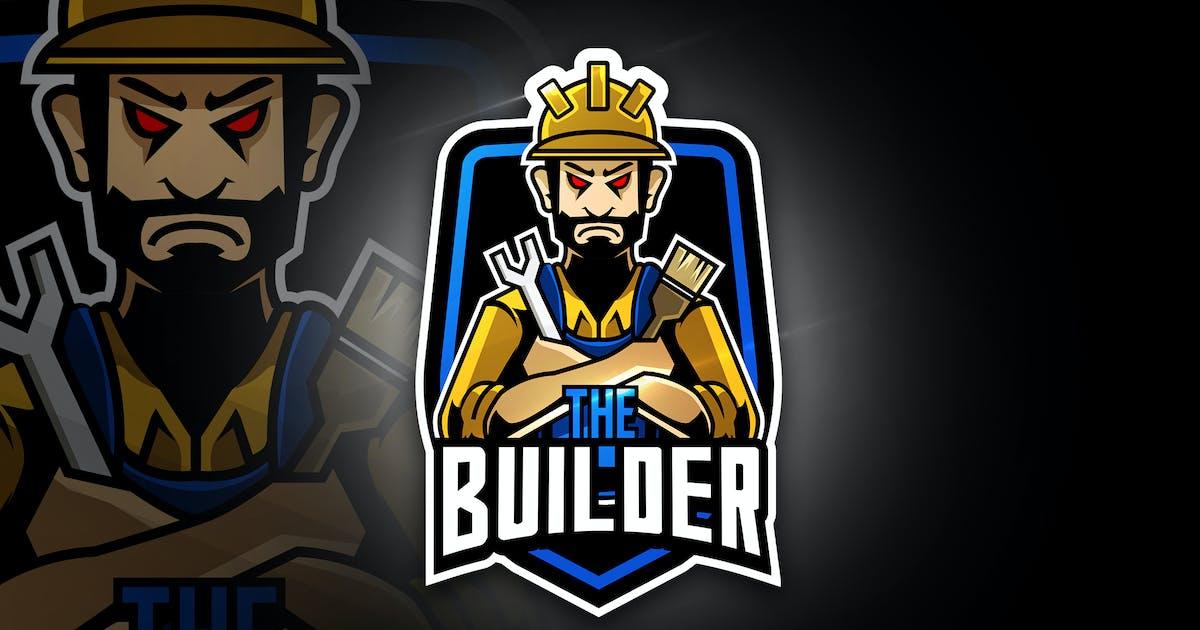Download The Builder - Mascot & Esport Logo by aqrstudio