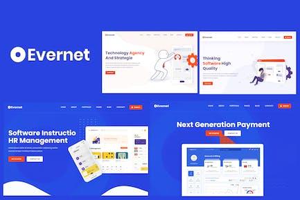 Evernet - HTML5-Vorlage