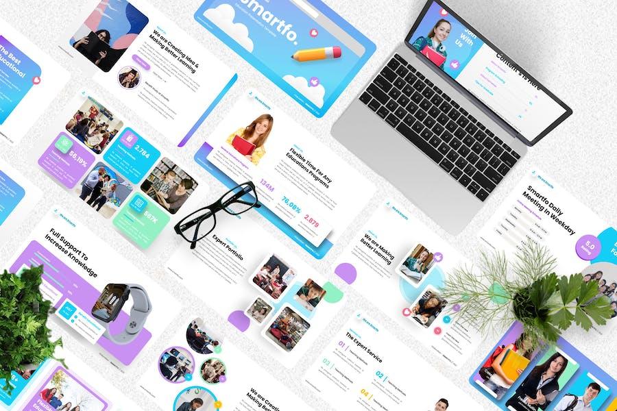 Smartfo - Education Creative Powerpoint Template