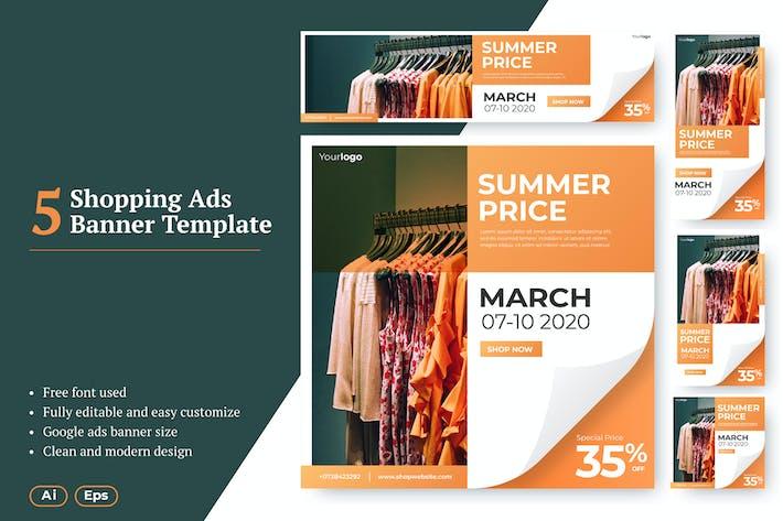 Thumbnail for AWR Shopping Web Ads Banner