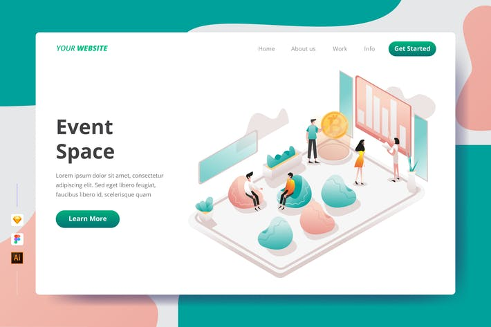 Thumbnail for Event Space - Landing Page