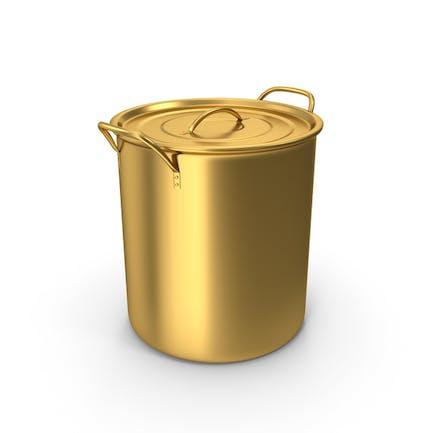 Olla de cerveza de oro