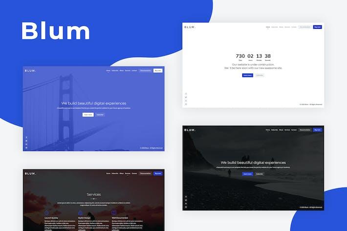 Blum - Responsive Coming Soon Template