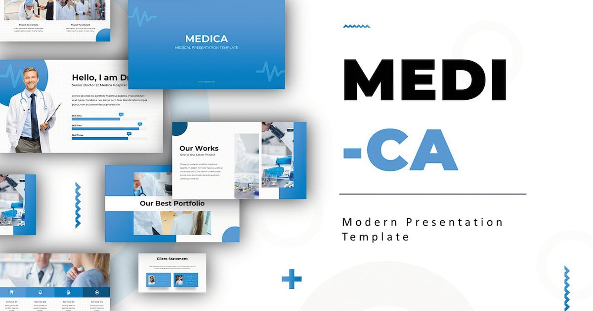 Medica - Powerpoint Template by SlideFactory