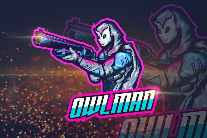 Thumbnail for Eulenmann - Shooter eSport Logovorlage