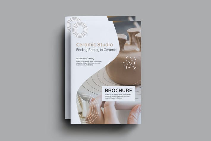 Thumbnail for Ceramic Studio Brochure