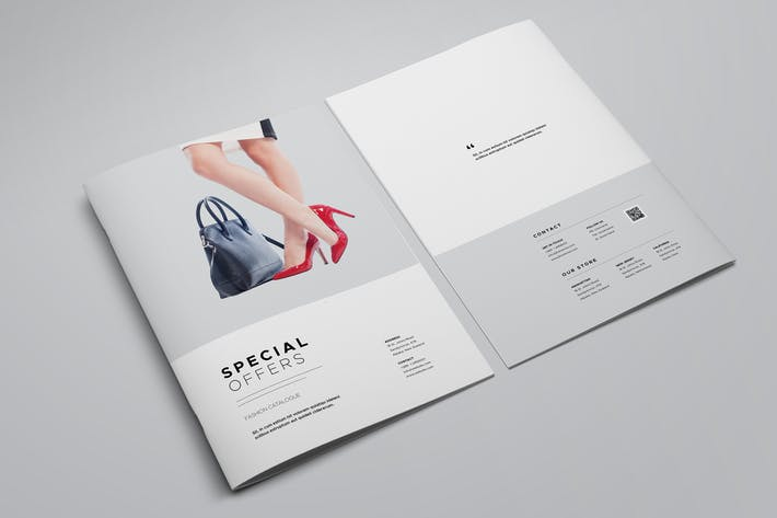 product catalog template by meenom on envato elements