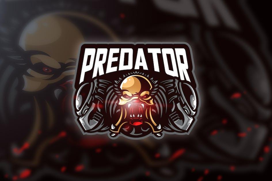 Download Predator sim - Mascot & Esport Logo by aqrstudio
