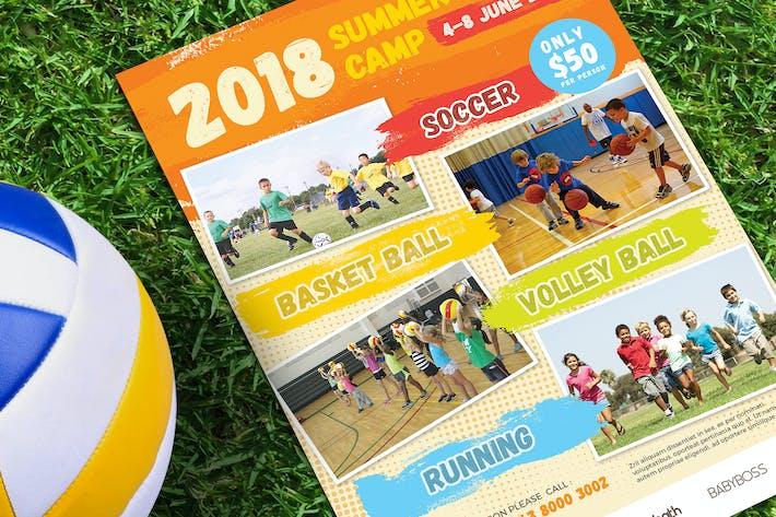 Thumbnail for Summer Sport Camp Flyer