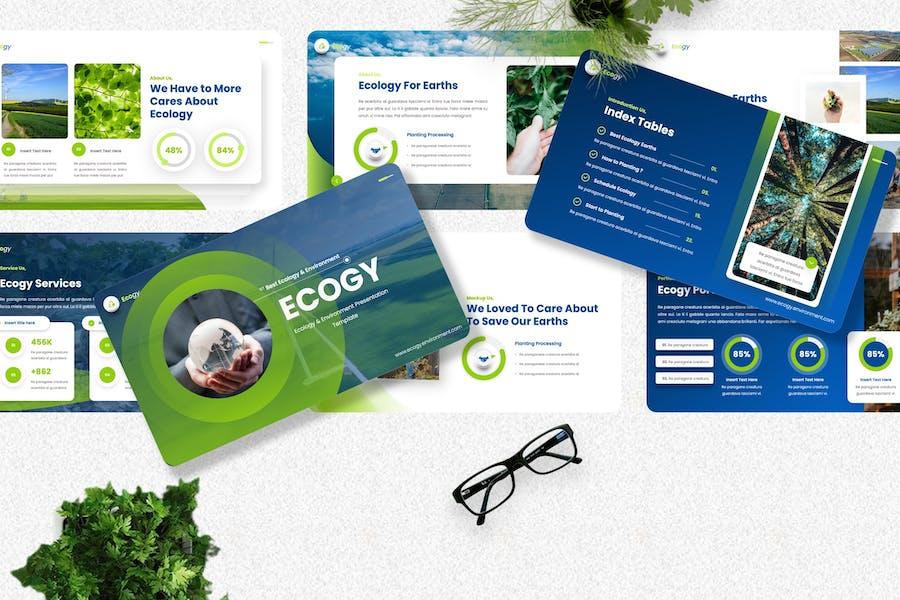 Ecogy - Ecology & Environment Googleslide Template