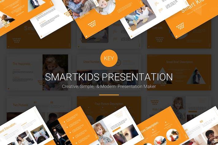 Thumbnail for Умные дети - Шаблон Keynote