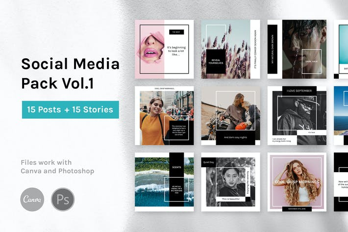 Thumbnail for Social Media Pack Vol.1