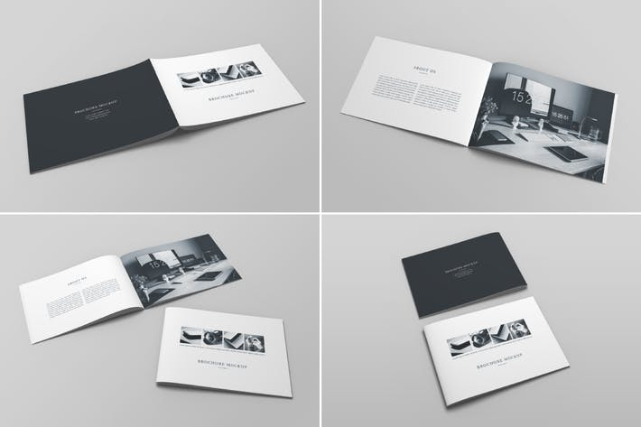 Thumbnail for Brochure Catalog Mockup Vol. 3