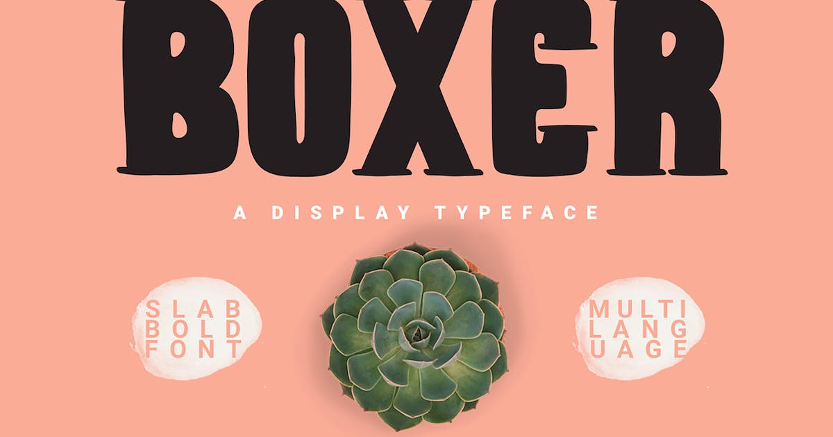 Download Boxer Typeface by giemons