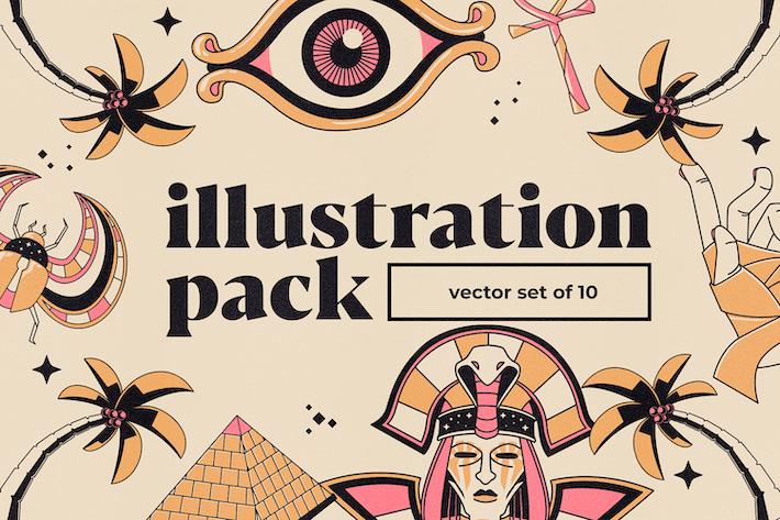 Thumbnail for Пакет иллюстраций и Логотип V2