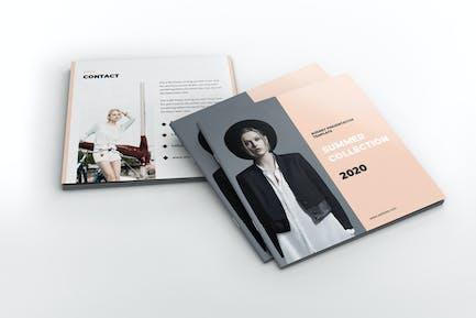Lookbook Square Brochure Template