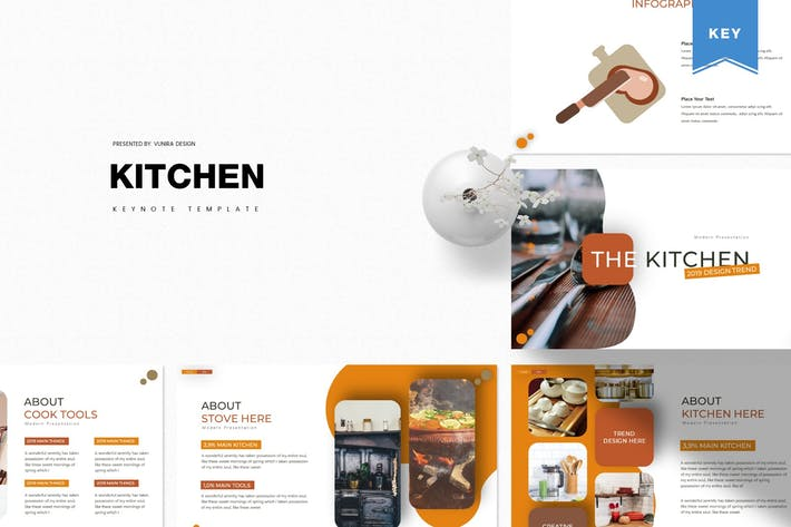 Thumbnail for The Kitchen | Keynote Template