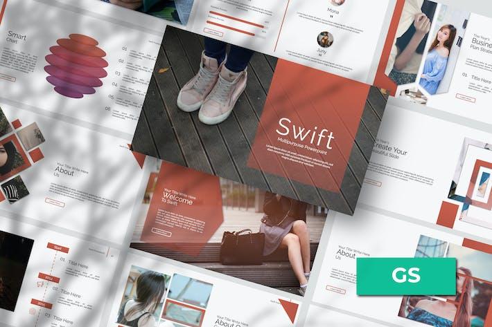 Cover Image For Swift Google Slide