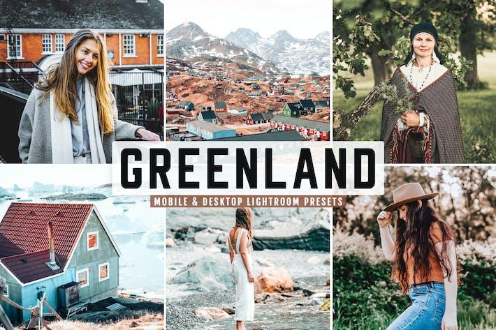 Thumbnail for Greenland Mobile & Desktop Lightroom Presets
