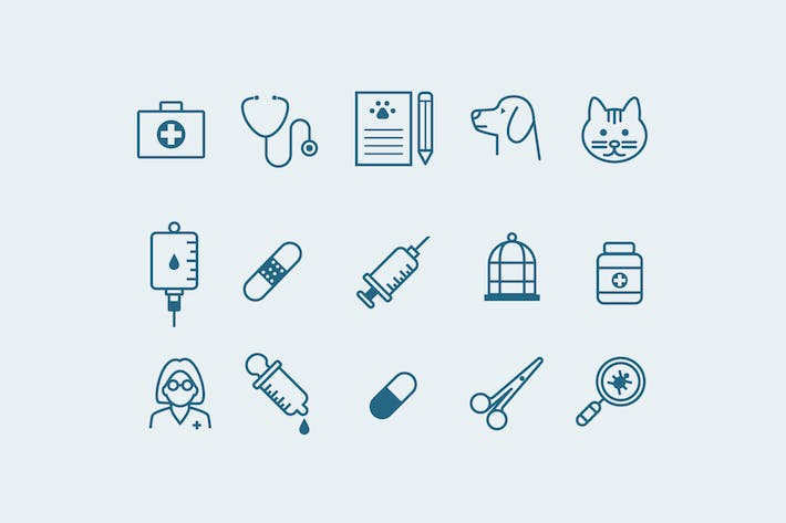 Thumbnail for 15 Veterinary Icons