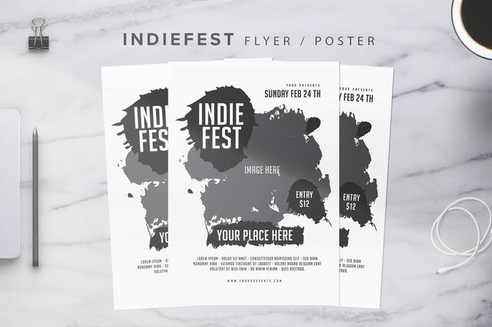 Thumbnail for Indiefest Flyer