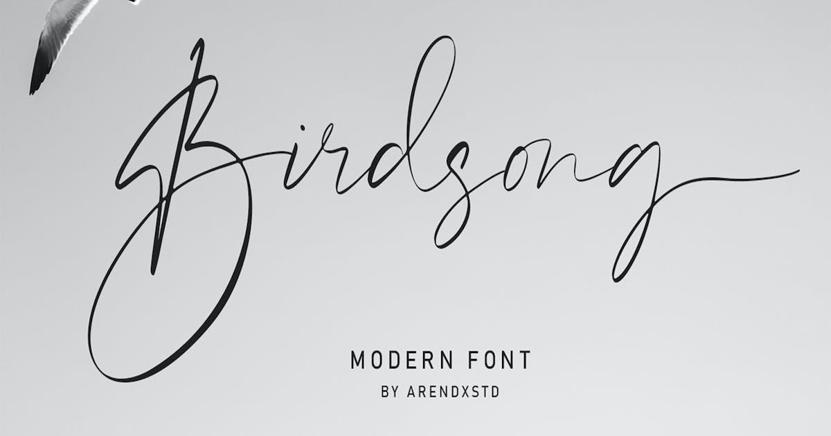 Download Birdsong Script by arendxstudio