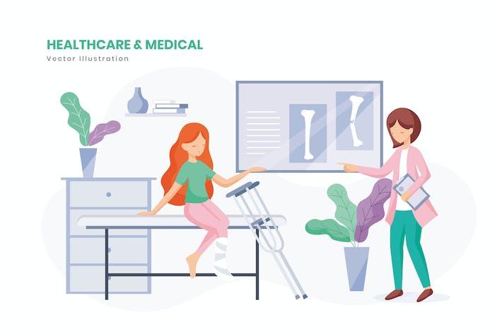 Thumbnail for Healthcare & Medical Illustration