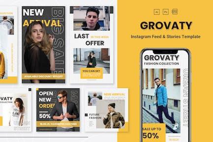 Grovaty - Instagram Feeds & Stories Pack
