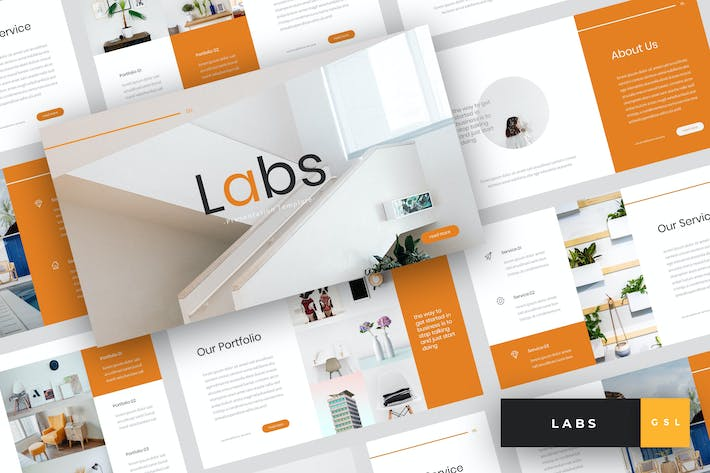 Labs - Creative Google Slides Template