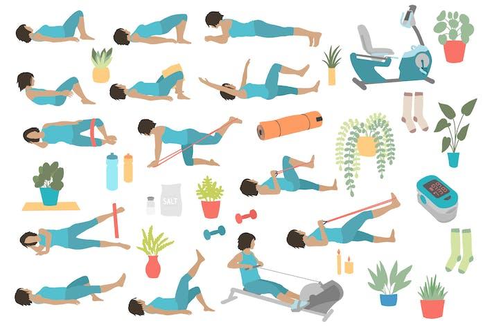 Thumbnail for Unterkörper Rückenstütze Übung Posen