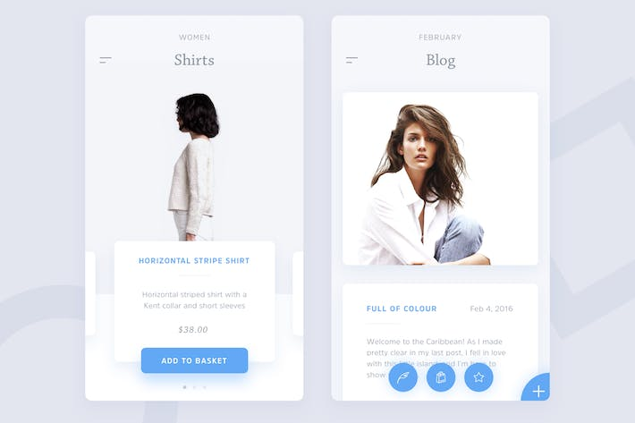 Thumbnail for Ecommerce - Blog Fashion App Template