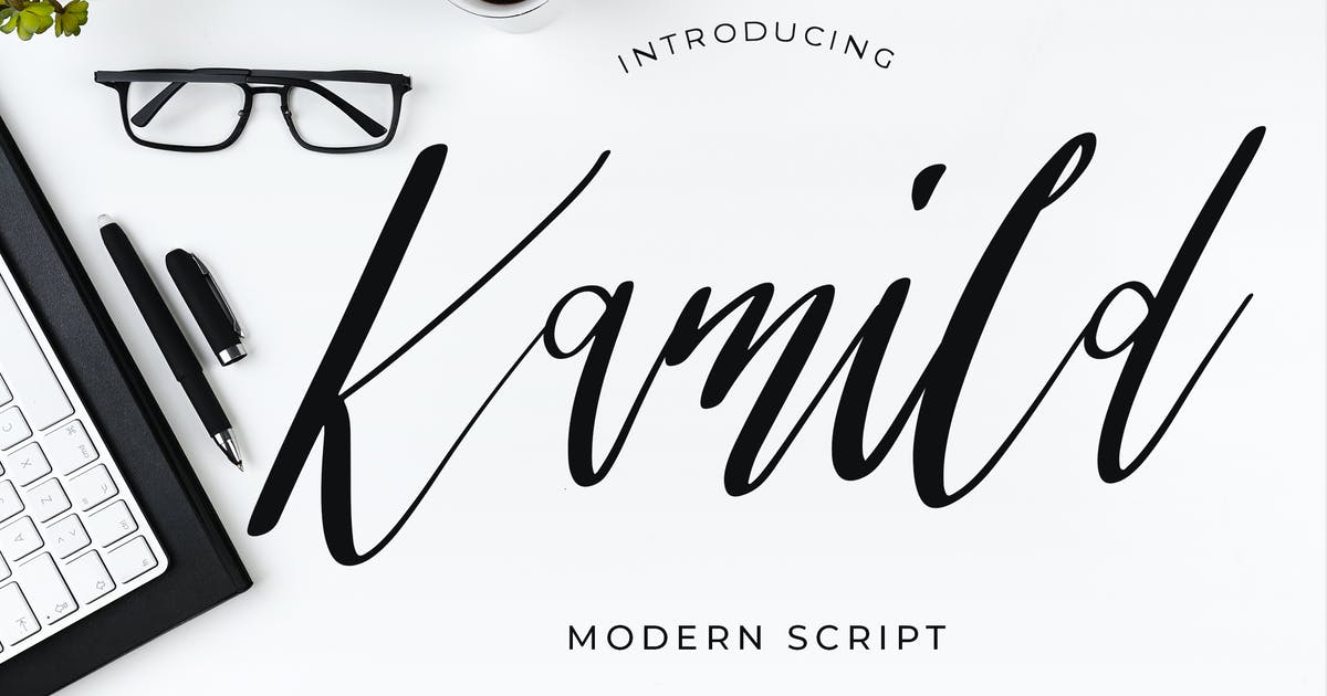 Download Kamild Calligraphy Font by Formatika