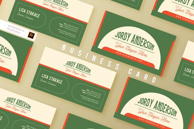 Business Card Vol. 4 - product preview 0