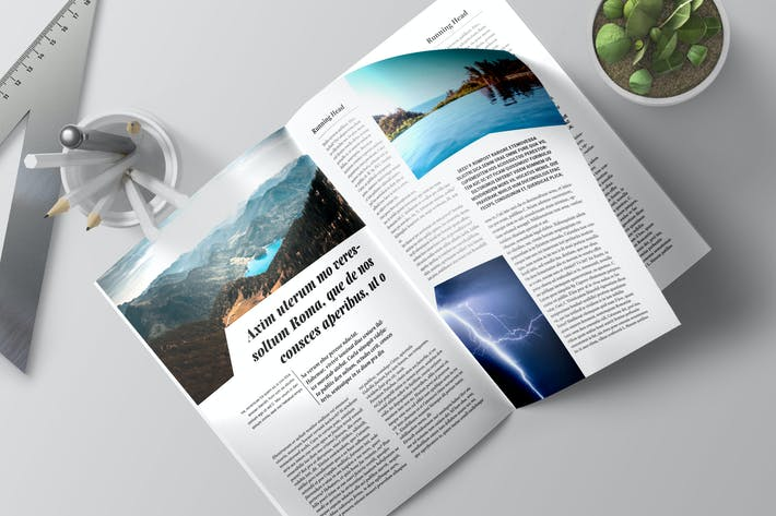 Thumbnail for Magazine Template 2 - TH