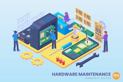 Isometrisches Hardware-Wartungskonzept