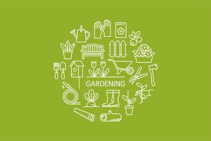 Garden Objects Icons