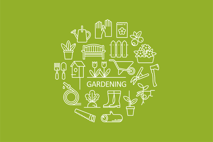 Thumbnail for Garden Objects Icons