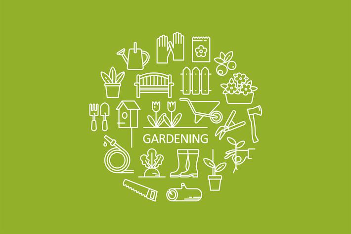 Thumbnail for Íconos de Objetos de jardín