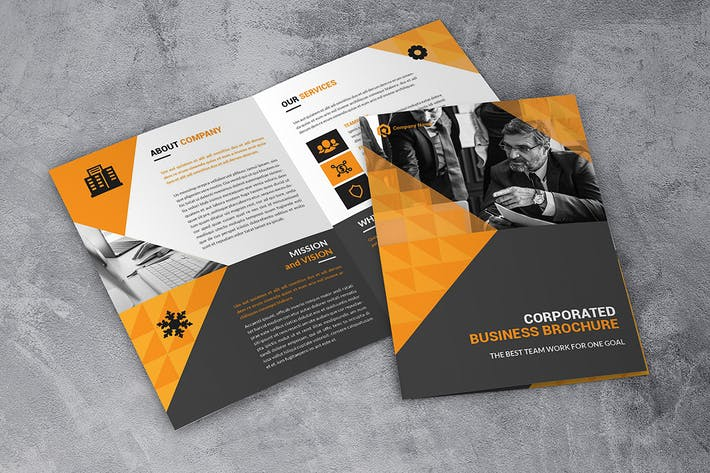 Thumbnail for Corporate Business Bifold Brochure