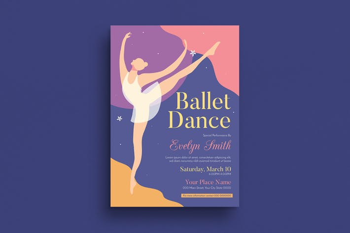 Cover Image For Ballet Dance Event Flyer