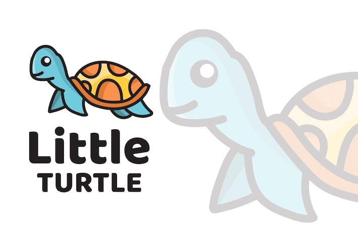 Thumbnail for Маленькая черепаха милый Шаблон логотипа