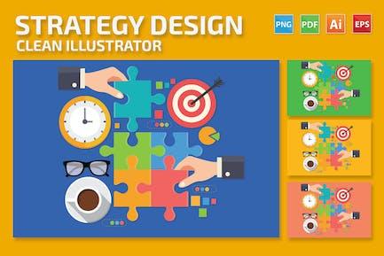 Diseño de estrategia