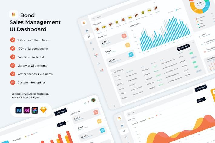 Bond - Sales Management UI Dashboard