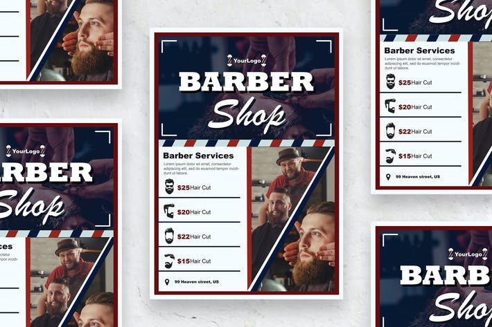 Thumbnail for Barber - Poster vol.01