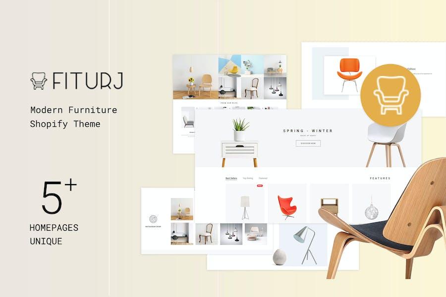 Fiturj - Modern Furniture Shopify Theme